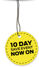 10 Day Sale Event Now On
