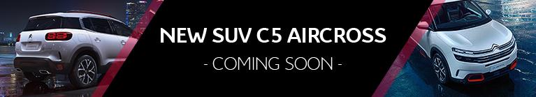 New SUV C5 Aircross - coming soon