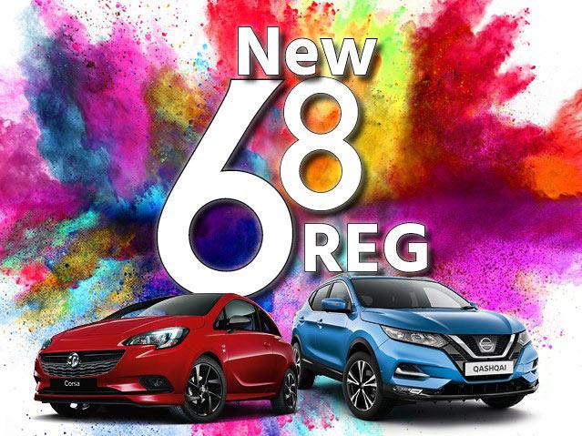 New 68 Reg