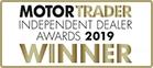 MotorTrader Independent Dealer Awards 2019 Winner