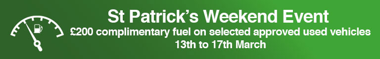 St Patrick's Weekend Event