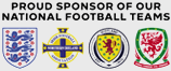 Proud sponsor of our national football teams