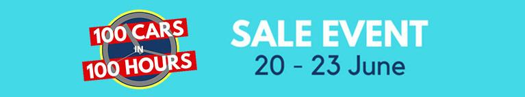 100 Cars Sale Event